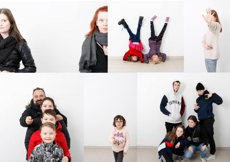Family workshops in an Art museum